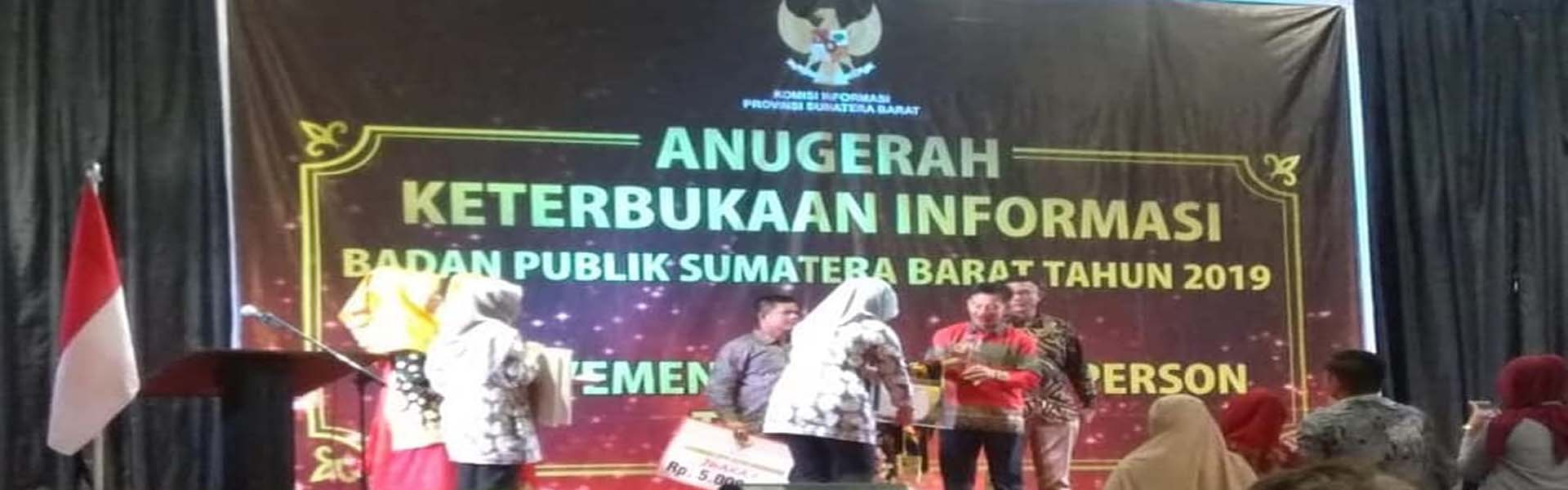 Anugerah Keterbukaan Informasi Publik se - Sumatera Barat 2019 Tingkat KPU Kab/Kota